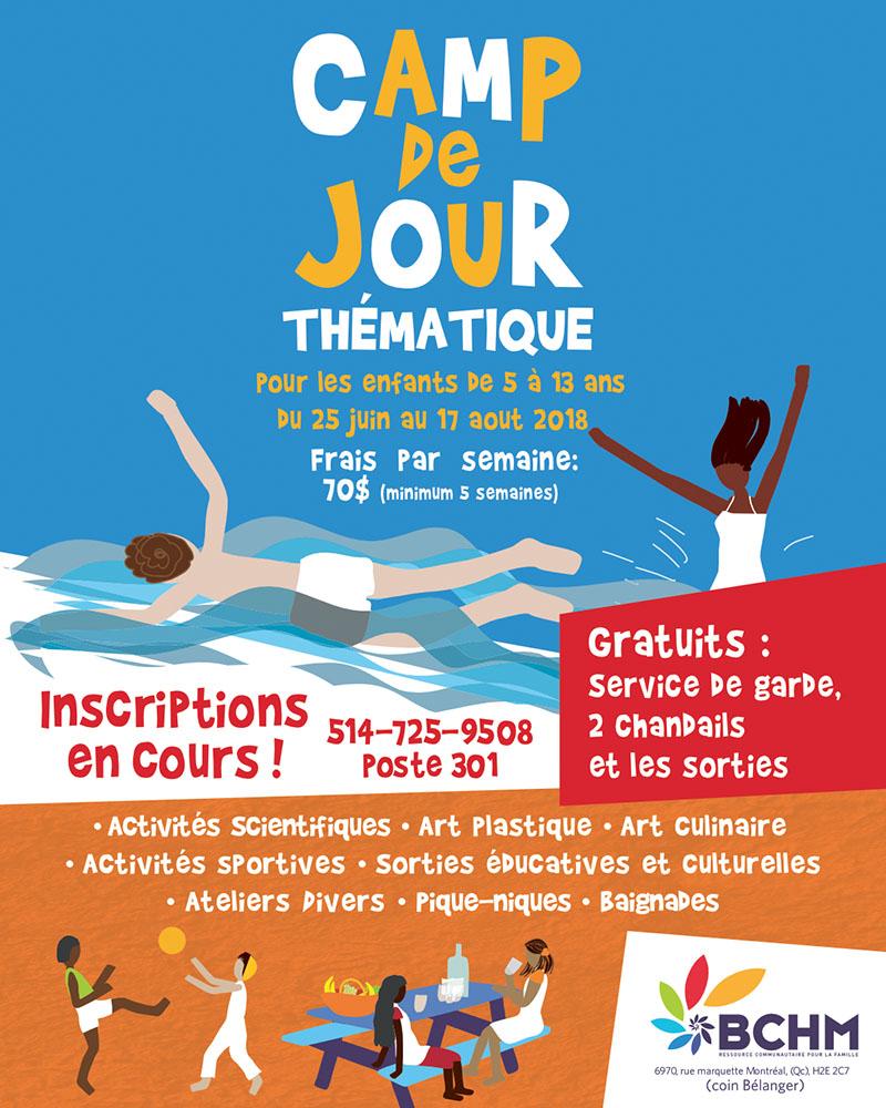 BCHM - Camp de jour - Été 2018 - Villeray – Saint-Michel – Petite-Patrie