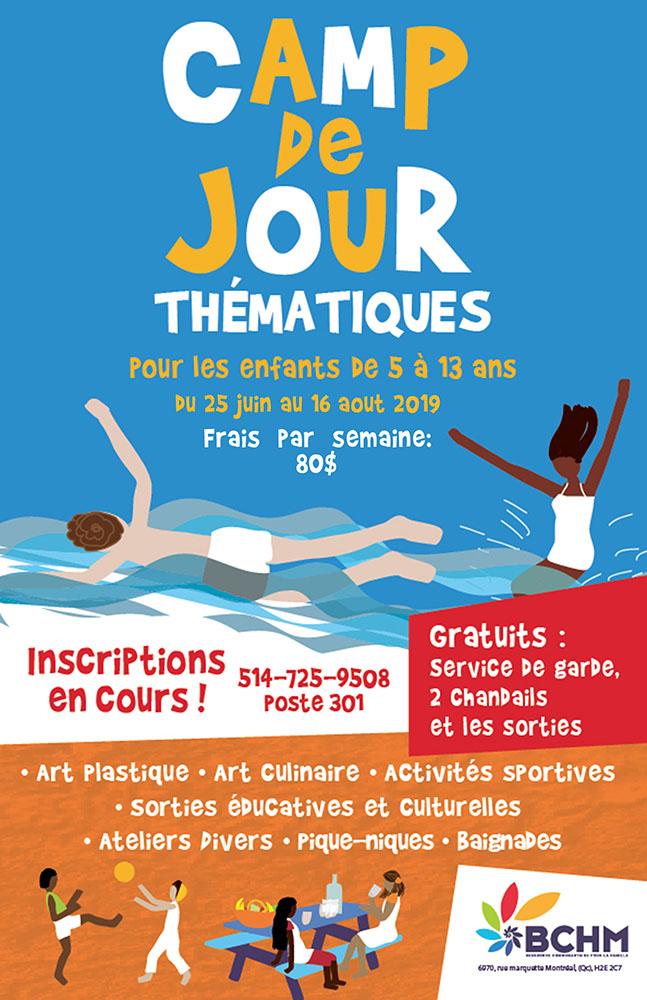 BCHM - Camp de jour - Été 2019 - Villeray – Saint-Michel – Petite-Patrie